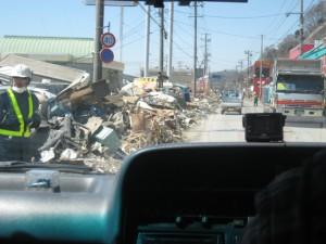 車内から見た現実