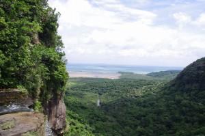 ピナイサーラの滝上からの眺め